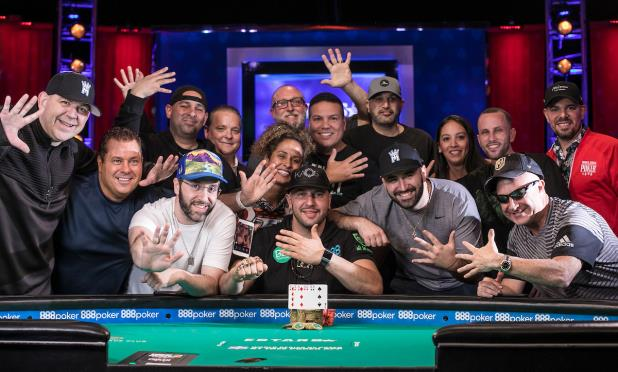 Article image for: MICHAEL 'THE GRINDER' MIZRACHI COLLECTS FIFTH CAREER BRACELET