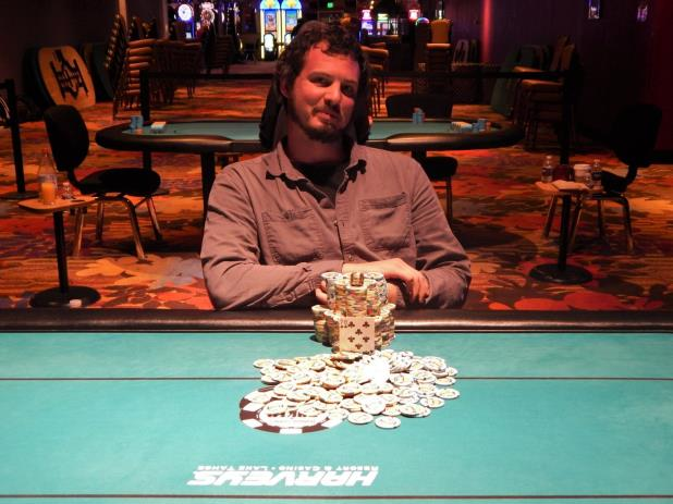 Article image for: MICHAEL PEARSON WINS THE HARVEYS LAKE TAHOE MAIN EVENT