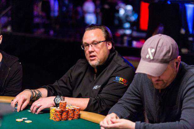 MICKEY CRAFT SITS NEAR THE TOP OF THE DAY 2A/B LEADERBORAD