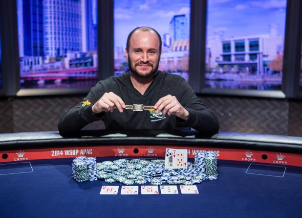 Article image for: MIKE LEAH CAPTURES 1st BRACELET IN WSOP APAC HIGH ROLLER