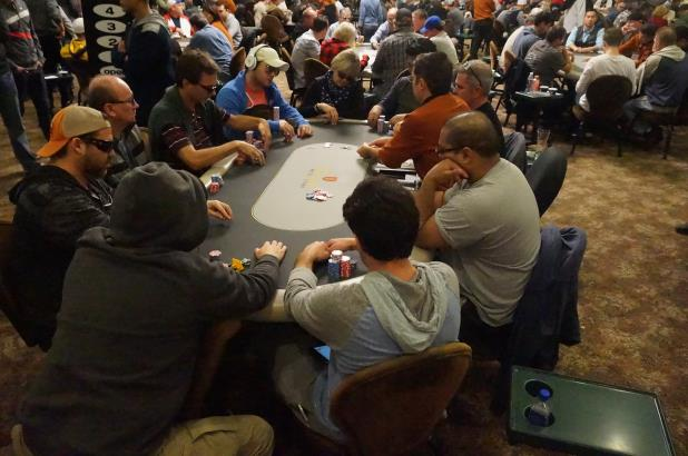 Article image for: JUSTIN RACKLEY LEADS MONSTER STACK FINAL TABLE