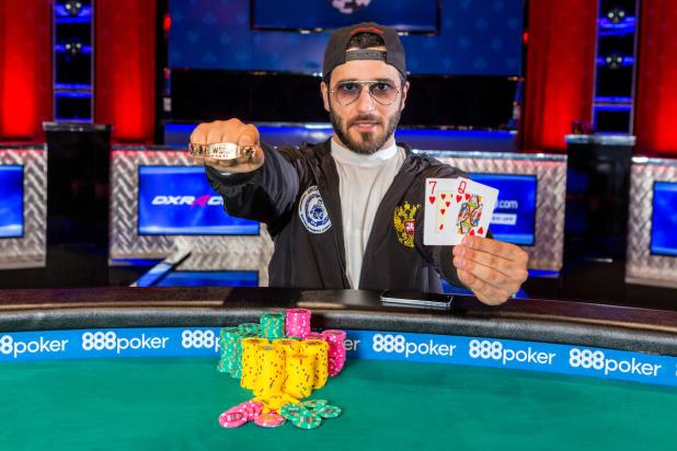 Article image for: NADAR KAKHMAZOV EARNS GOLD IN EVENT #36, $5,000 NO-LIMIT HOLD'EM 6-HANDED