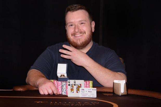 Article image for: NATHANAEL KOGEL WINS CHOCTAW MAIN EVENT