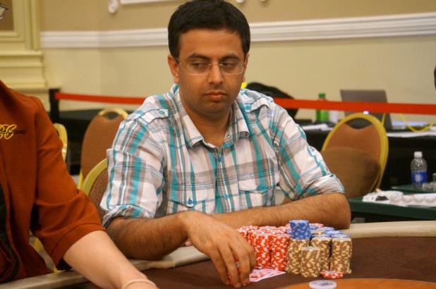 NIPUN JAVA LEADS FINAL 13 AT THE BIKE