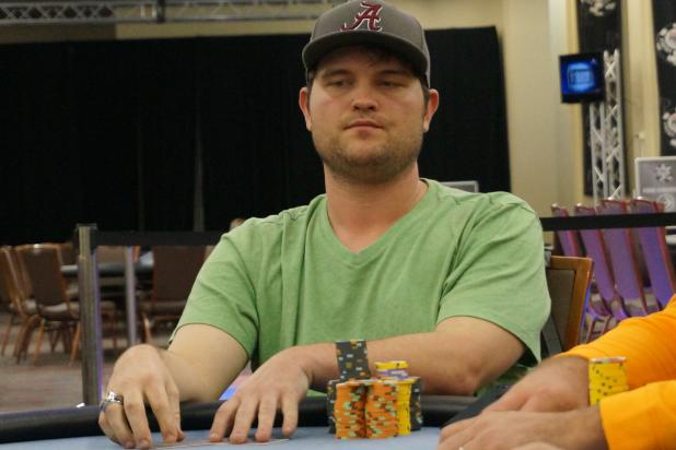 Article image for: NOLAN BURTON SETS THE PACE IN IP BILOXI MAIN EVENT