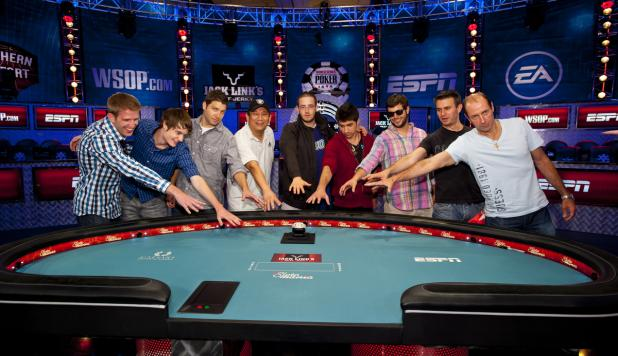 MEET THE 2012 WSOP 'OCTOBER NINE'