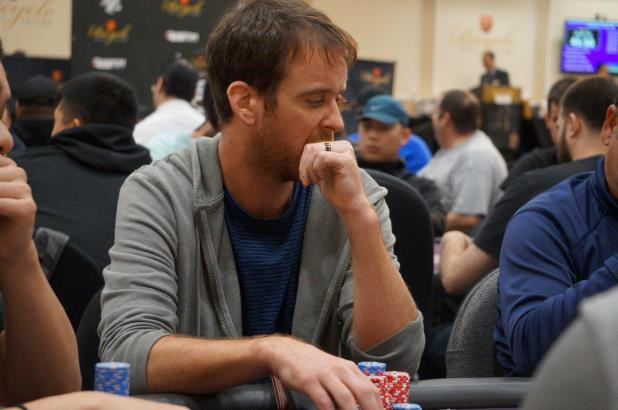 Article image for: OWEN CROWE LEADS FINAL 11 HEADING INTO DAY 3 OF THE BICYCLE CASINO MAIN EVENT
