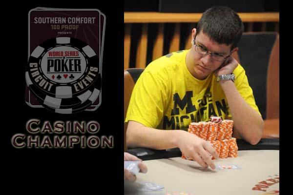 CASINO CHAMPION PROFILE: SAMUEL PANZICA