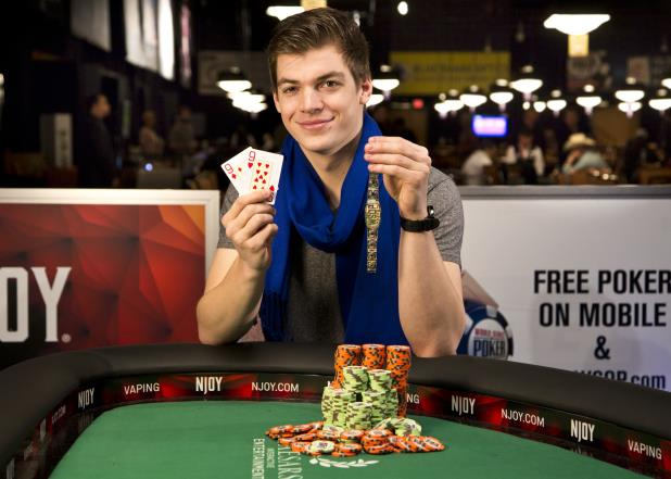 Article image for: PAUL MICHAELIS WINS GOLD IN POT-LIMIT HOLD'EM