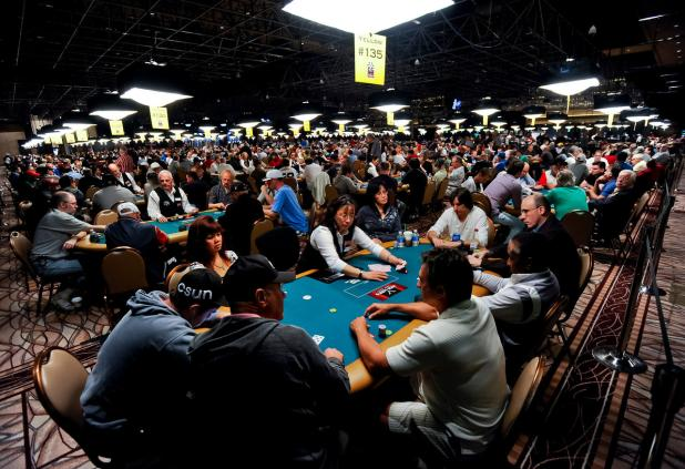 42nd ANNUAL WSOP ON RECORD-SETTING PACE AT HALF-WAY POINT