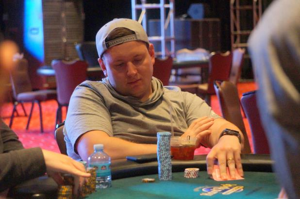 Article image for: DMITRII PERFILEV LEADS FINAL 17 TO END DAY 2 OF COCO CREEK MAIN EVENT