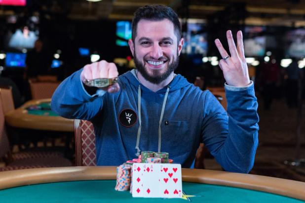 PHILL GALFOND WINS PLO8 CHAMPIONSHIP FOR THIRD GOLD BRACELET