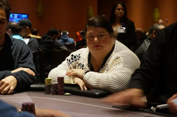 DENISE PRATT LEADS FINAL EIGHT IN POTAWATOMI MAIN EVENT