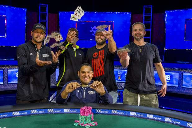 Article image for: RAFAEL LEBRON WINS $3K SIX-MAX LIMIT TITLE