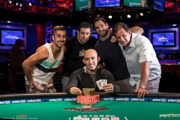 RAMI BOUKAI WINS 2ND WSOP BRACELET IN $1,500 8-GAME MIX