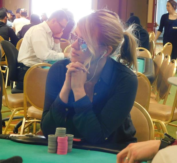 RENATA COLACHE LEADS FINAL NINE GOING INTO DAY 3 OF HARRAH