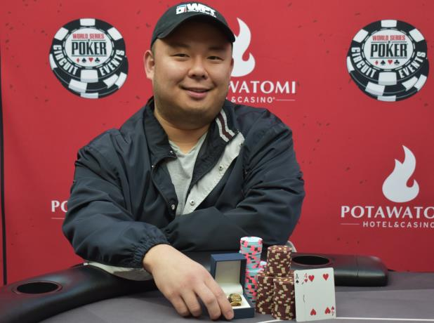 Article image for: RICHARD BAI WINS POTAWATOMI MAIN EVENT FOR $138,317