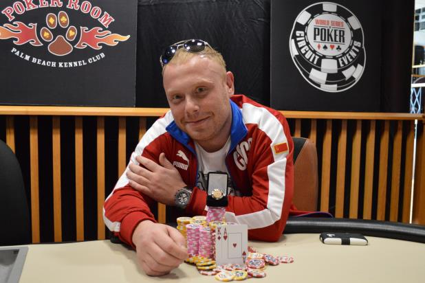 RUSLAN DYKSHTEYN WINS MAIN EVENT AT PALM BEACH KENNEL CLUB