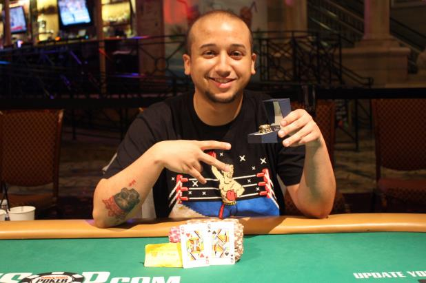 Article image for: RYAN JONES WINS SECOND WSOP CIRCUIT MAIN EVENT RING AT THE RIO