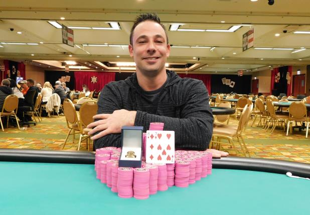 RYAN ERIQUEZZO SHIPS MAIN EVENT AT HARRAH