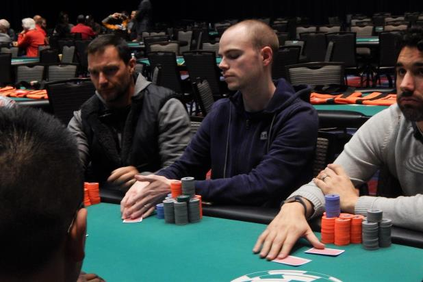 RYAN MCKNIGHT LEADS 144 PLAYERS ADVANCING TO DAY 2 OF THE CHEROKEE MAIN EVENT