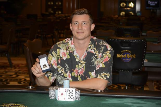 Article image for: ANTON WIGG WINS HARD ROCK HIGH ROLLER