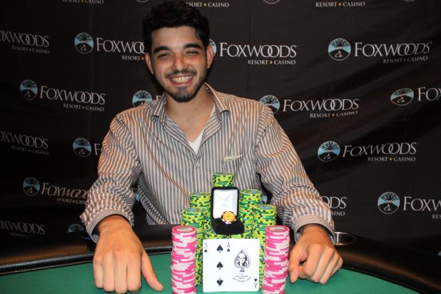 Article image for: SAMUEL TAYLOR WINS MAIN EVENT AT FOXWOODS