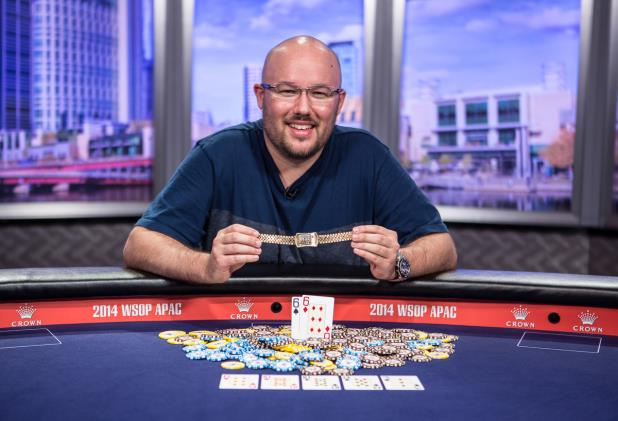 Article image for: SCOTT FREE: DAVIES WINS WSOP APAC MAIN EVENT AND $850,136