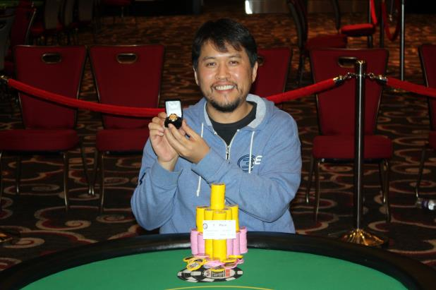 SEAN YU WINS CIRCUIT MAIN EVENT AT HARRAH