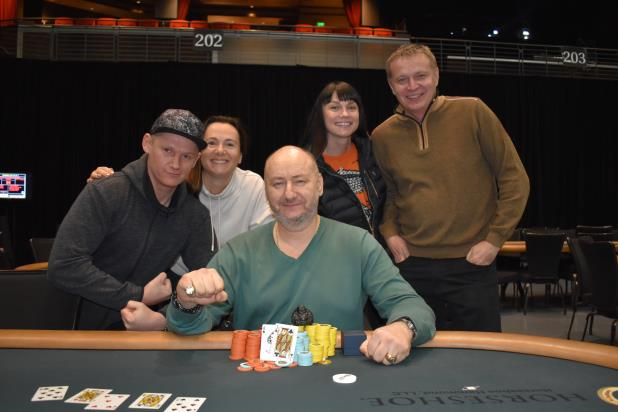 SERGEY SERGEEV TAKES DOWN HORSESHOE HAMMOND HIGH ROLLER