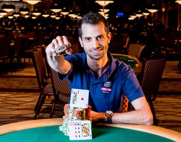 Article image for: ISRAEL'S SHAI ZURR WINS EVENT #65, $1,000 NO-LIMIT HOLD'EM (30-MINUTE LEVELS)