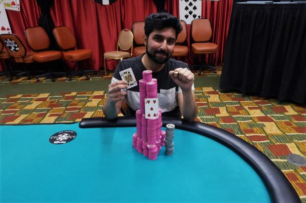 SOHEB PORBANDARWALA WINS HARRAHS ATLANTIC CITY MAIN EVENT