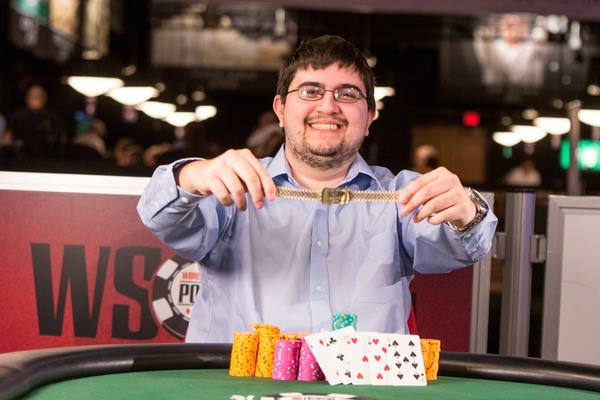 Article image for: STEVEN WOLANSKY EARNS BREAKTHROUGH GOLD BRACELET VICTORY