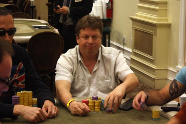 STUART RABIN LEADS MAIN EVENT AT THE BIKE
