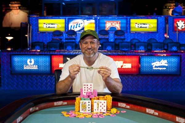 CHRIS TRYBA WINS MIXED HOLD'EM EVENT WITH A FLOURISH