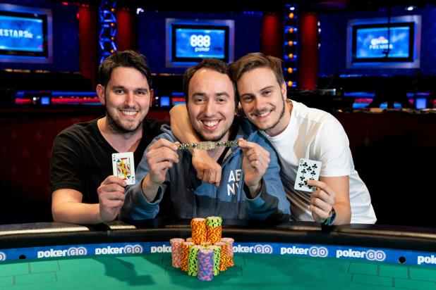 Article image for: TEAM GEIGER: BARAK WISBROD, OHAD GEIGER, AND DANIEL DAYAN WIN $1,000 TAG TEAM TITLE