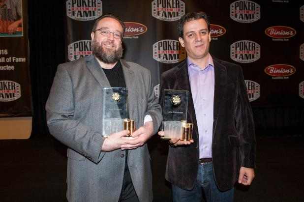 Article image for: POKER HALL OF FAME INDUCTES 2016 CLASS IN HEARTFELT CEREMONY