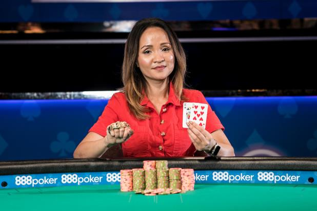 STEPHANIE DAO TRIUMPHS IN $3,000 LIMIT HOLD