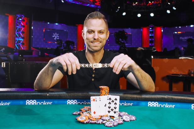 Article image for: TYLER GROTH WINS $1,000 POT-LIMIT OMAHA