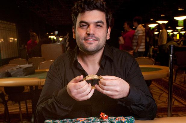 SHOW ME THE SHEKELS - ISRAELI NATIVE TOMER BERDA WINS $825,976 FOR WSOP EVENT 56 WIN