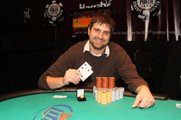 ANOTHER WIN BY FIRST-TIMER AT WSOP CIRCUIT