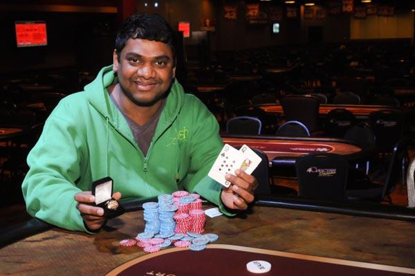RAJA KATTAMURI BESTS AN ALL-TEXAS FINAL TABLE