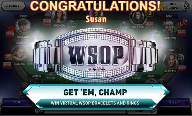 ELECTRONIC ARTS LAUNCHES WORLD SERIES OF POKER FOR FACEBOOK