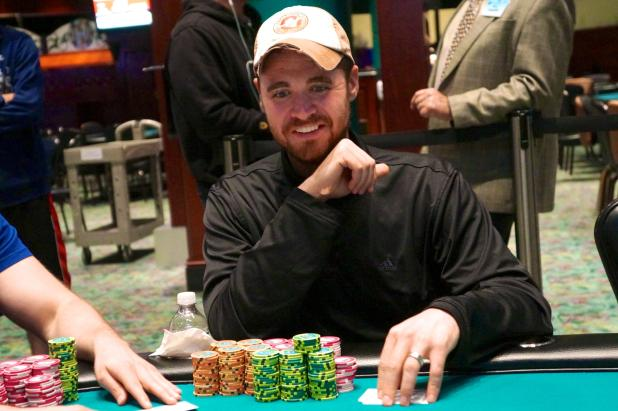 Article image for: WES WYVILL LEADS FINAL 11 IN FOXWOODS MAIN EVENT