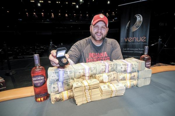Article image for: JOSH WILLIAMS WINS WSOPC CHAMPIONSHIP IN CHICAGO, WORTH $385,909