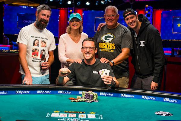 ERIC BALDWIN WINS $1,500 NO-LIMIT HOLD