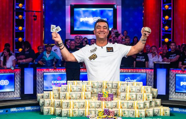 Wsop News Hossein Ensan Is The 2019 Wsop Main Event Champion