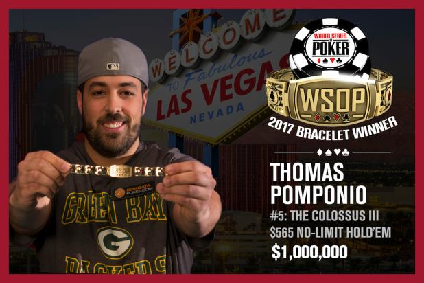 Article image for: THOMAS POMPONIO SNARES $1,000,000 WITH COLOSSUS III VICTORY
