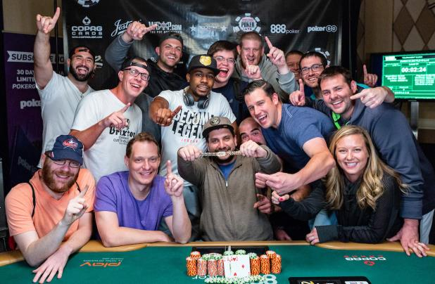 Article image for: JOEY COUDEN WINS $1,500 PLO8 EVENT