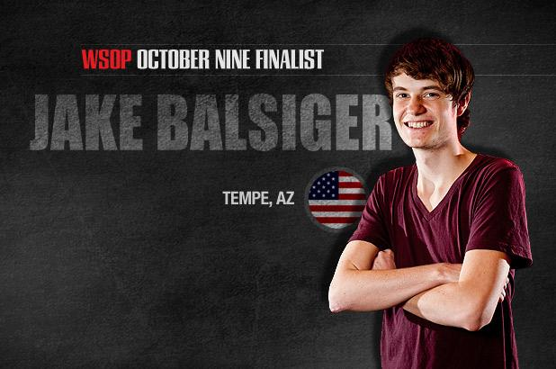 GETTING TO KNOW THE OCTOBER NINE: JAKE BALSIGER COULD BECOME YOUNGEST CHAMP EVER